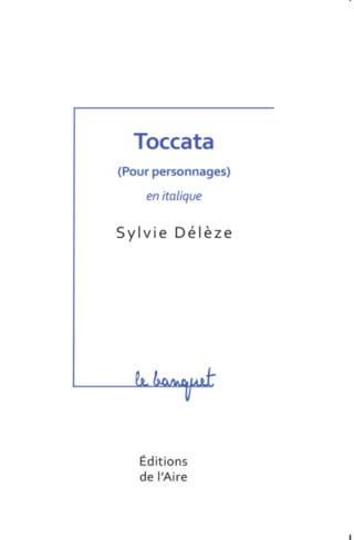 Toccata (pour personnages) en italique